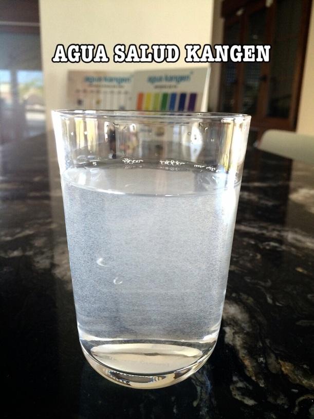 La mejor agua agua salud kangen